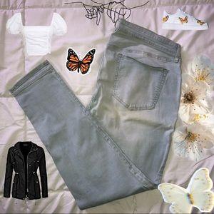Old Navy Rockstar Skinny Light Blue Jeans 🐝
